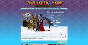 SoulGeek sign up