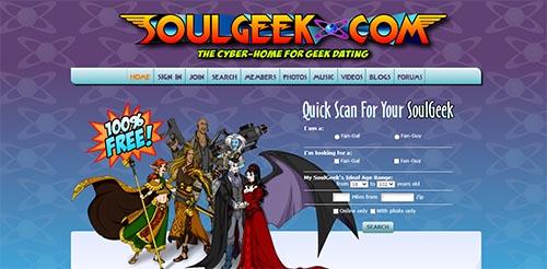 SoulGeek.com screen
