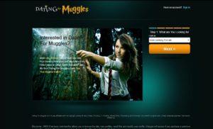 DatingForMuggles.com main page