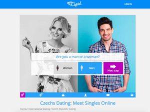 Cupid.com main page