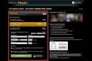 DatingForMuggles price