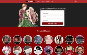 Maiotaku main page