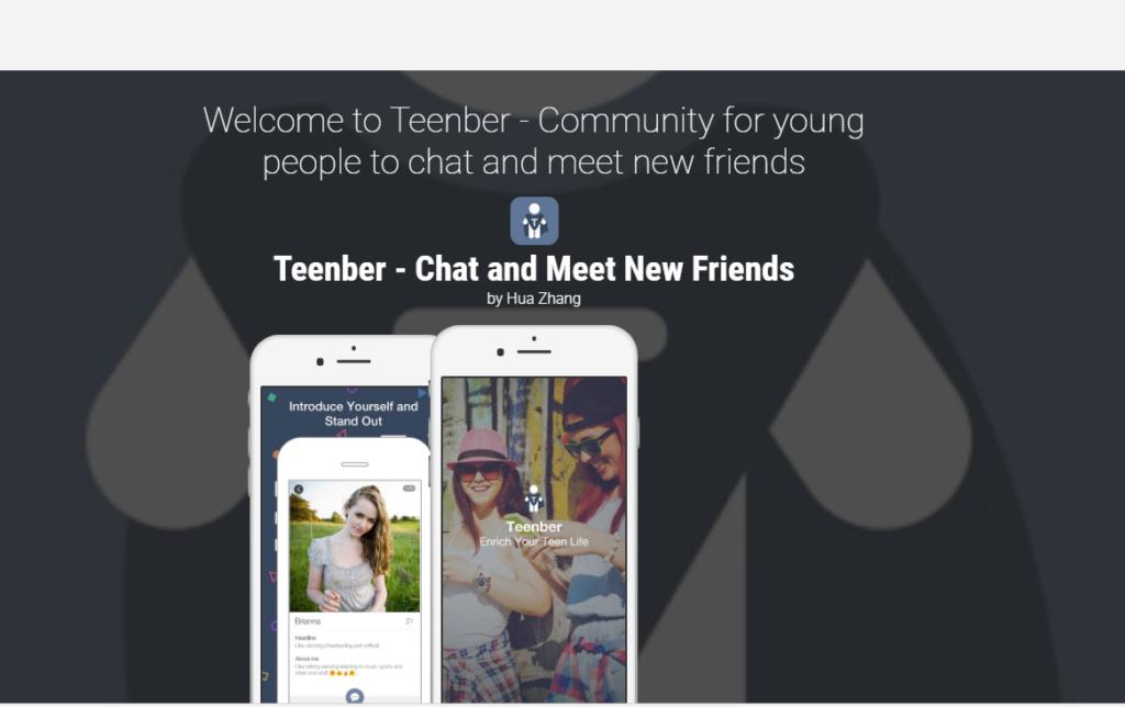 Teenber main page
