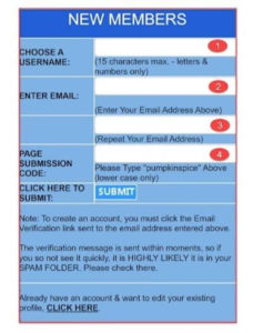Trekpassions.com register
